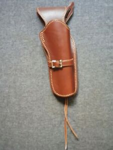 Leather western cowboy holster