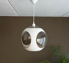 Vintage white Luigi Colani mid century space age lamp bugeye design pendant lamp