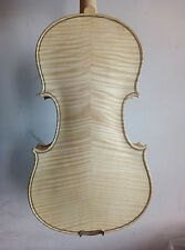 4/4 violin Stradi model nice flamed maple back with parts only clean varnishing