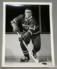 Original Late 50's Bill Hicke Mtl Canadiens Photo