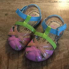 Infant Girl's STRIDE RITE Baby Nandini Sandals Size 4 Multicolored Pink