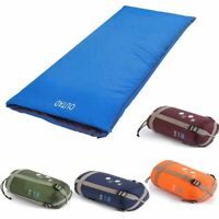 Multifuntion Water-resistant Ultra-light Envelope Sleeping Bag Outdoor Camping @