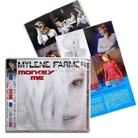 Mylène Farmer Monkey Me Taiwan CD Promo Sheet Mini Poster 2018 Mylene Farmer NEW