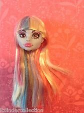 MONSTER HIGH ~ Abbey Bominable for Replacement or Repaint HEAD ONLY bangs New