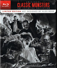 Universal Classic Monsters BLU-RAY Set Essential 8 Film Collection Alex Ross NEW