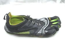 Vibram Five Fingers black green water mens barefoot running shoes 45 12D M3781