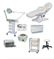Hydra Bed Stool Hydraulic Pump Single Waxer 9 Function Spa Equipment Package - 5