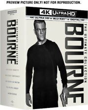 The Bourne Ultimate Collection [New 4K UHD Blu-ray] 4K Mastering, Boxed Set, U