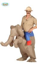Éléphant Tragekostüm Costume Chevalier Gonflable avec Moteur Huckepack