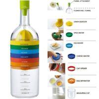 Bottle shape 8 in 1 multifunction kitchen tools Kitchen Gadget Gift 28x8cm