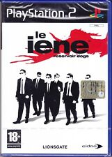 Ps2 PlayStation 2 «LE IENE ~ RESERVOIR DOGS» nuovo sigillato italiano pal
