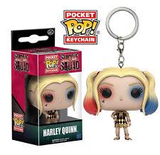 EXCLUSIVE Harley Quinn Dress Licenced Suicide Squad Funko Pocket POP! Keyring