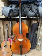 More details for thomann 3/4 europe slimline double bass with bow and gewa case