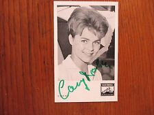 "CORNELIA ""CONNY"" FROBOESS (""The Elusive Corporal"") Signed 3 x 5 1/2  B & W Photo"