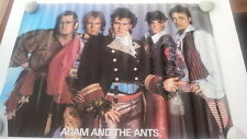 ADAM & The ANTS glossy 35 x 23 inch Poster from the 1980s