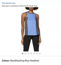 The North Face Womens Ambition Tank Top - Dazzling Blue Size L