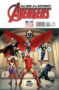 All New All Different Avengers #1 Local Comic Book Day Variant Cover LCSD AA1