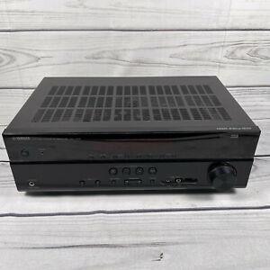 Yamaha RX-V375 500W 4K UHD 3D Natural Sound AV Receiver amp Black - UK Seller!