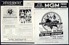 MAIN ATTRACTION 1962 Pat Boone, Nancy Kwan, Mai Zetterling UK PRESSBOOK