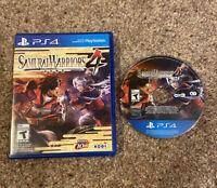 PS4 - Samurai Warriors 4 (Sony PlayStation 4, 2014) - Tested & Guaranteed