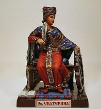 St. Catherine of Alexandria the Great-Marty; miniature adama tin alloy toy