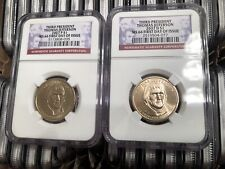 2007 WASHINGTON P/&D PCGS MS 66 FIRST DAY ISSUE POSITION A/&B 4-COIN DOLLAR SET