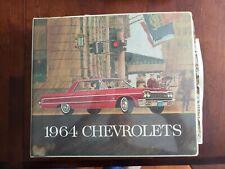 1964 Chevrolet Dealer Showroom Presentation Book Album Complete! Plus Bonus