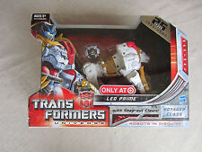Transformers Maximal Leo Prime+snap out Claws Voyager Class Universe Target MISB
