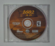 1602 A.D. PC Windows 95/98 Game 1998 Strategy