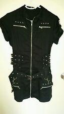 Black denim alternative dress