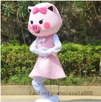 Cute GG Bond Pig Mascot Costume Suits Cosplay Party Game