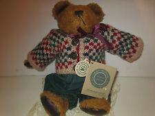 """BOYD'S AND FRIENDS  J.B BEAN  EDDIE BEAN BAUER BEAR 10"""" BEAR  NWT"""