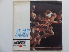 Flexi disc Pub Nesquik Je vais aux jeux olympiques LIVRET 40 Pages