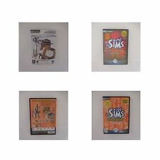 3 PC CD-ROM LES SIMS SUPERSTAR ET PLUS SI AFFINITES KEEPSAKE