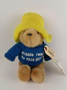 "Vintage Paddington Bear Eden Darkest Peru 11"" Plush"