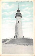 1920's? Light House Port Isabel TX post card