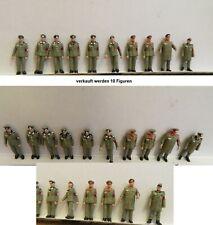 Deutsche Wehrmacht Preiser Figuren 1:87 H0 Konvolut Militär Military