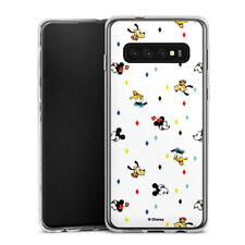 Samsung Galaxy S10 Silikon Hülle Case - Disney Carnival Pattern