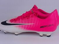 men woman NIKE mercurial pink white football boots shoes size uk6 nike