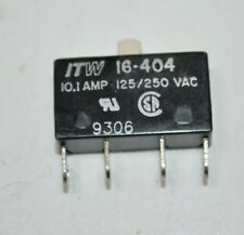New Itw Subminiature Microswitch Pin Plunger Spdt 101 A 125250 Vac 16 404