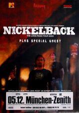 NICKELBACK - 2003 - Konzertplakat - Concert - Long Road - Tourposter - München