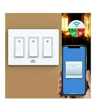 MoKo Smart Switch Smart WiFi Light Switch with Remote Control Alexa 3 Gang