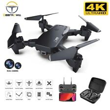 Christmas Gift 2020 NEW Rc Drone 4k HD Wide Angle Camera 1080P WiFi fpv Drone