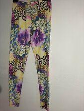 Womens Ladies Floral Summer Printed Stretchy Full  Length  Leggings miss Selfrid