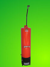 80L MACIZO combustible Calentador de Agua Suelo Soporte vertical Estufa de leña