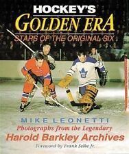 Hockey's Golden Era : Stars of the Original Six by Mike Leonetti (1998, Paperbac