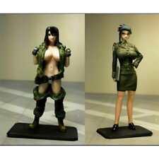 1/35 Model Resin Figure Female Officer Modern Unpainted&Unassembled DIY Gift