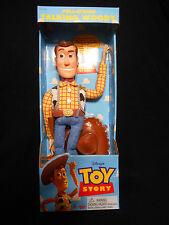 "Toy Story Pull String Talking Woody 16"" Disney Pixar Doll 62943 NIB WORKS"