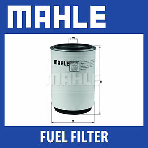 Mahle Fuel Filter KC378D - Fits Volvo FM Series - Genuine Part