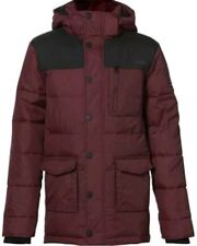 O'NEILL Boys Red Mahogany Stanley Jacket Age 13-14 Years BNWT